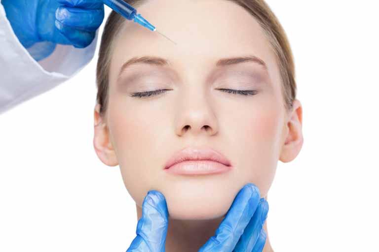 botox para las arrugas de la frente